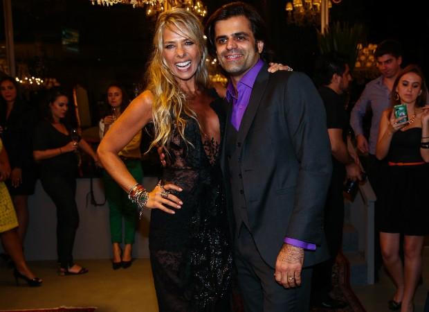 Adriane Galisteu e João Camargo (Foto: Manuela Scarpa/Photo Rio News)