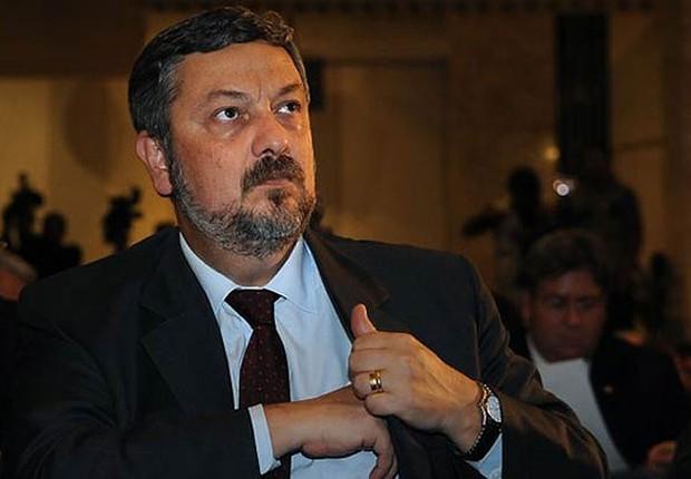 Antônio Palocci foi ministro da Fazenda do governo Lula. A imagem é de 2003  (Foto: Fabio Rodrigues Pozzebom/Agência Brasil)