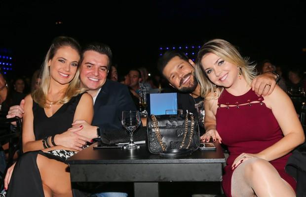 Thais Pacholek, Belutti, Marcos e Lu Marchioto (Foto: Manuela Scarpa/Brazil News)
