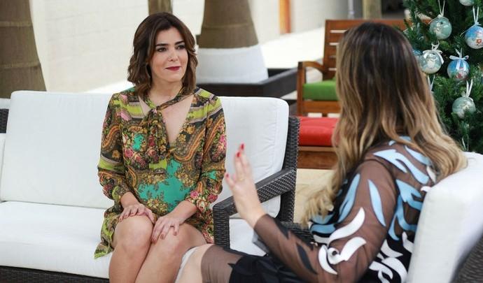 Marilucy Cardoso foi a convidada especial do 'Mais Diário' de Natal  (Foto: Reprodução TV Diário / Nicolas Puglisi)