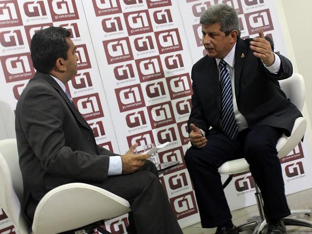G1 entrevista Zé Filho (Foto: Jaqueliny Siqueira/ G1)