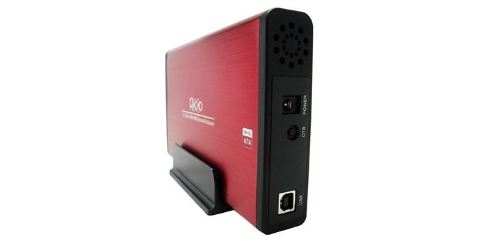 Case para HD Externo de 3,5 Pixxo com USB 2.0 (Foto: Divulgação)