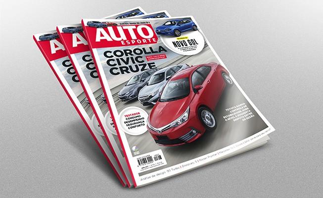 Revista de Autoesporte de abril (Foto: Autoesporte)