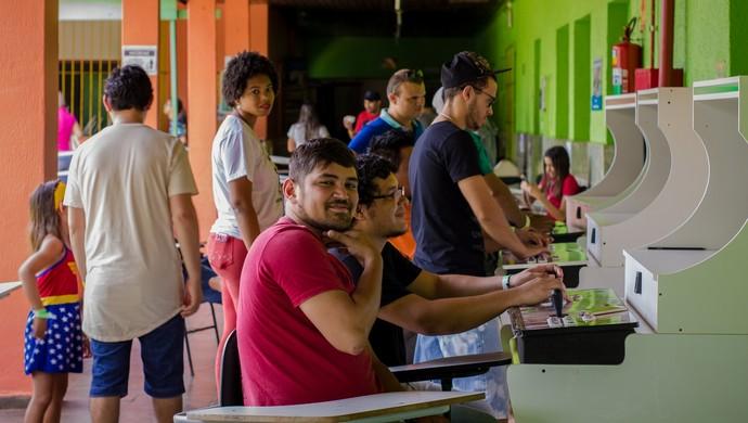 2º Arkade teve a participação de mais de 200 pessoas (Foto: Jheniffer Núbia)