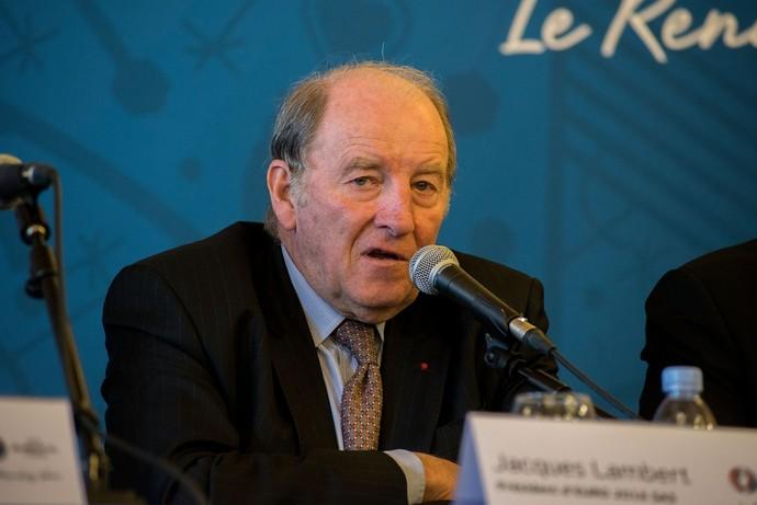 Jacques Lambert diretor do Comitê Organizador da Copa de 98 (Foto: Getty Images)