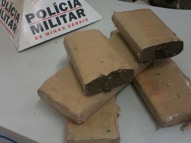 Maconha (Foto: Polícia Militar)