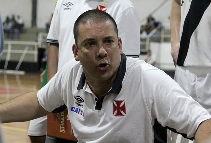 Christiano Pereira Vasco basquete (Foto: Paulo Fernandes/Vasco)