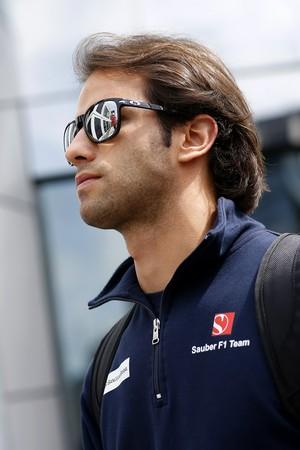 Felipe Nasr, da Sauber, no GP da Áustria (Foto: Getty Images)