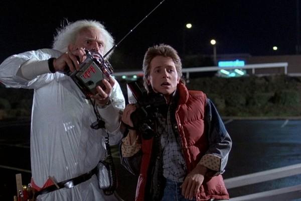 Cena do filme De Volta para o Futuro (1985) (Foto: Reprodução)