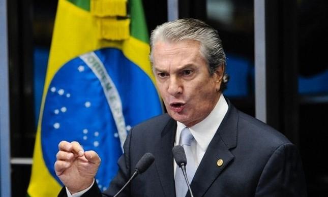 Fernando Collor, senador (PTB-AL) (Foto: Pedro França / Agência Senado)