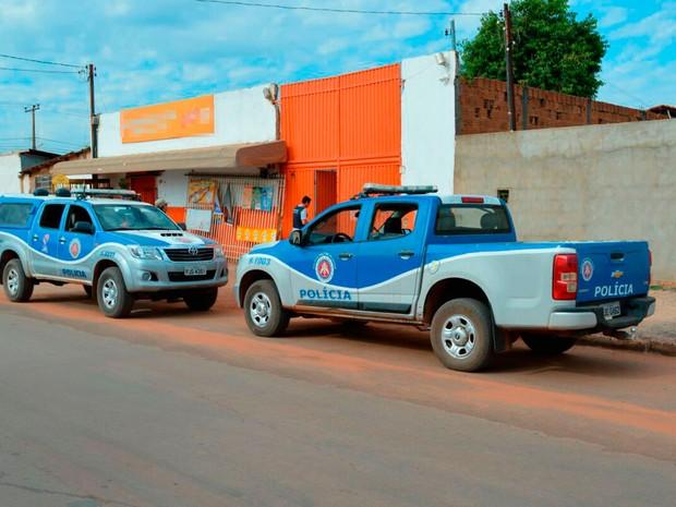 Distribuidora de bebidas fica em Luís Eduardo Magalhães, oeste da Bahia (Foto: Ivan Gehlen/Blog do Braga)