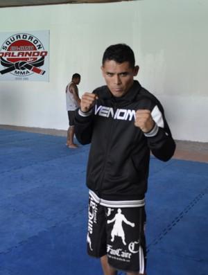 Simey Garrote, lutador de MMA, AP (Foto: Cassio Albuquerque/GE-AP)