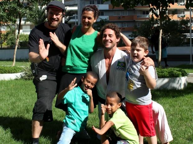 Flvio Canto no Socorro! Meu Filho Come Mal (Foto: Isabela Dias)