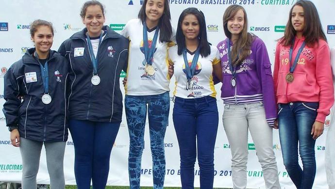 Cinco atletas tocantinenses de Porto Nacional conquistaram ao todo 20 medalhas no Campeonato Brasileiro de Canoagem Velocidade e Paracanoagem (Foto: Divulgação)