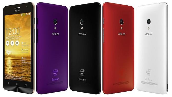 Zenfone 5 tem tela de cinco polegadas, preço baixo e processador dual-core (Foto: Divulgação/Asus)