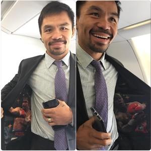 Manny Pacquiao postou foto no Instagram nesta segunda-feira (Foto: Reprodução/Instagram)