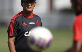 Após pausa, Fla retoma concentração para encarar o Vasco em São Januário