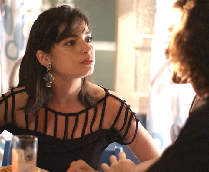 Krica também quer virar tema de uma música (Foto: TV Globo)
