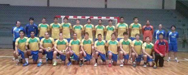 Seleção Brasileira Juvenil de Handebol (Foto: CBHb/Assessoria de Comunicação)