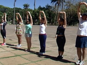 Turistas ficam quase nove dias em média em Araxá (Foto: Reprodução/TV Integração)
