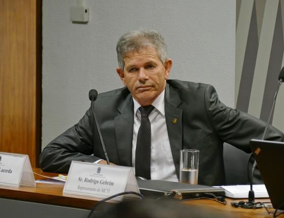 O senador suplente Wilmar Lacerda (Foto: Roque de Sá/Agência Senado)