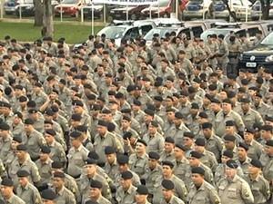 Polícia Militar de Goiás (Foto: Reprodução/TV Anhanguera)