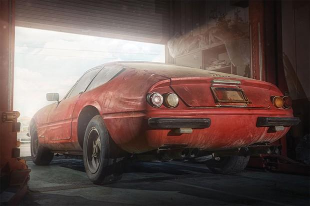A traseira curta virou inspiração para vários modelos futuros da Ferrari (Foto: Divulgação)