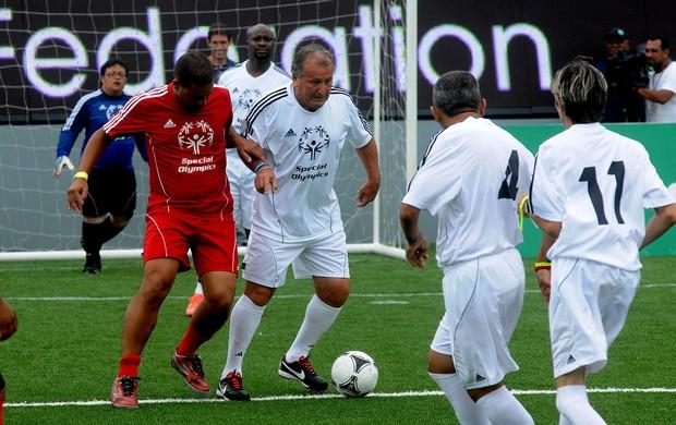 Zico Soccerex copacabana (Foto: André Durão / Globoesporte.com)