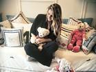 Rafa Brites posta foto no quartinho do bebê: 'Entrando nesse mundo'