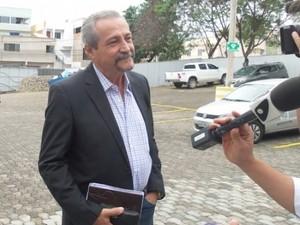 Coronel Ferreira, no 6º dia de júri (Foto: Vilmara Fernandes/ A Gazeta)