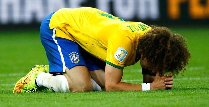 David Luiz Brasil e Alemanha (Foto: Agência Reuters)