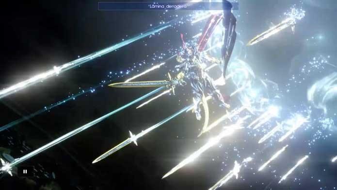 Convoque uma Invocação em Final Fantasy XV (Foto: Reprodução/Murilo Molina)