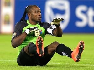 Kidiaba comemora gol do Congo contra a Republica do congo (Foto: Agência AP )
