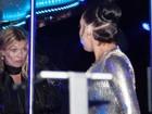 Com Lady Gaga, Kate Moss deixa festa mais pra lá do que pra cá