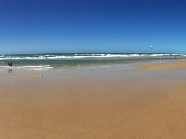 praia do futuro (Foto: Sebastiao Mota/G1)