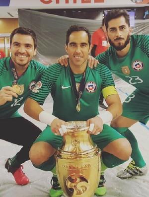 Chile Taça Copa América Centenário (Foto: Reprodução/Instagram)