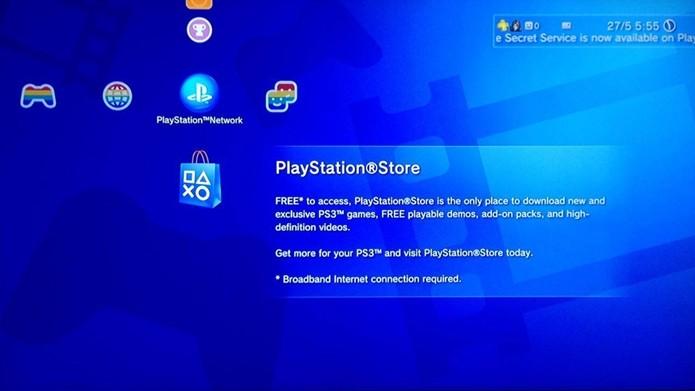 Baixe seus jogos digitais no PS3 pela PlayStation Store (Foto: Reprodução/Cássio Barbosa)