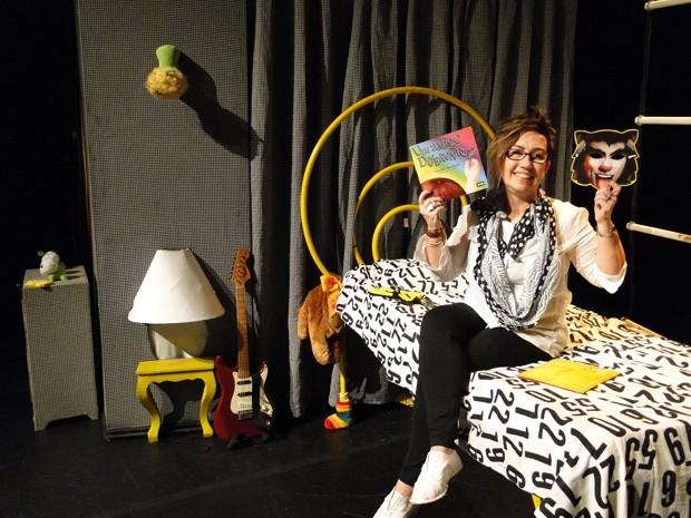 Claudia Werneck, a idealizadora do espetáculo 'Um Amigo Diferente?'. (Foto: Pedro Cunha/G1)