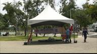 Campanha Natal Sem Fome recebe doações em tenda na orla de João Pessoa