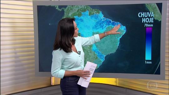 Entenda por que chuvas intensas atingem estados do Nordeste e do Sul