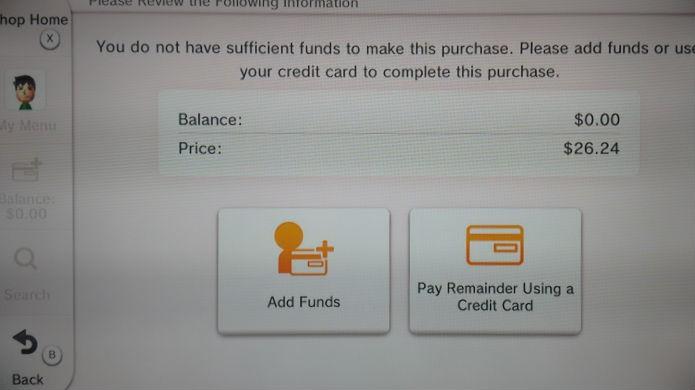 Use seu cartão de crédito internacional para comprar jogos de Wii no Wii U (Foto: Reprodução/Thomas Schulze)