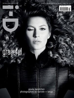Gisele Bündchen na capa da i-D de outubro (Foto: Reprodução)
