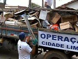 Projeto Cidade Limpa da TV TEM (Foto: Reprodução/TV TEM)