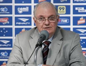 Gilvan de Pinho Tavares, presidente do Cruzeiro (Foto: Washington Alves/Light Press/Cruzeiro)