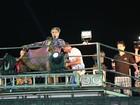 Anitta encarna rainha egípcia em sua estreia no carnaval de Salvador