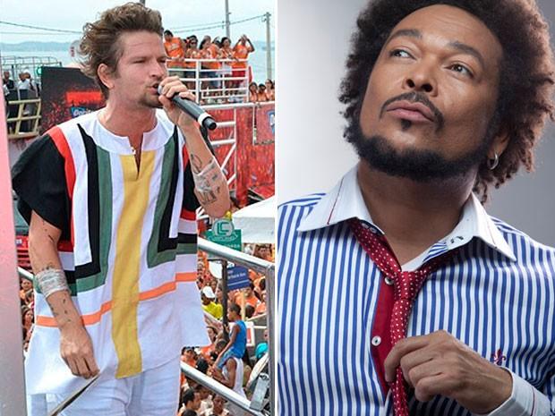 Saulo Fernandes e Jau (Foto: Divulgação)