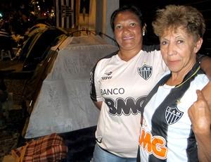 acampamento torcida Atlético-Mg fila ingressos (Foto: Alexandre Alliatti)