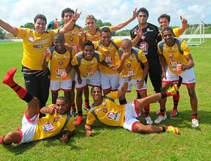 treino do vitória (Foto: Roque Mendes/Divulgação/EC Vitória)