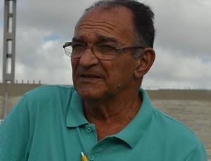 Eudes Toscano, narrador (Foto: Hévilla Wanderley / GloboEsporte.com/pb)
