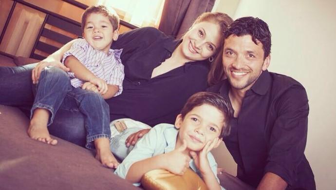 Edmar Lacerda família (Foto: Edmar Lacerda / Arquivo Pessoal)